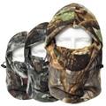 Winter Warm Fleece Headscarf Ski Mask Camouflage hunting balaclava Windproof