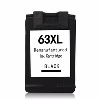 Compatible 63xl 63 Black Ink Toner Cartridge 1 Pack For HP F6U64AN With Printhead