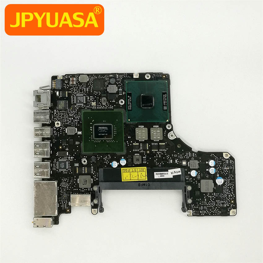 For Macbook Pro A1278 Motherboard (Logic Board) MB991 Core 2 Duo 2.53GHz P8700 820-2530-A 661-5231 original logic board 820 2101 a for macbook pro 15 4 a1226 motherboard ma895 mid 2007 2 2ghz core 2 duo 2175mmb0060
