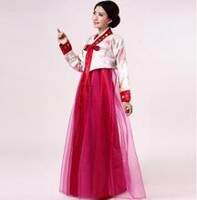 2018 summer cotton silk japanese korean traditional full-sleeve hanbok yukata dances costumes performance dress cosplay