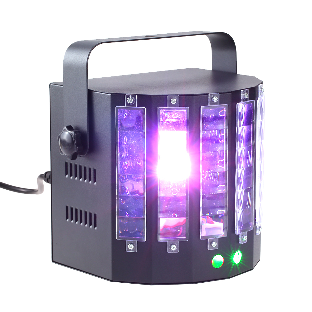 18W 9 Colors DMX Stage Lighting Effect DMX512 Stage Light for DJ Disco Club Party KTV rg mini 3 lens 24 patterns led laser projector stage lighting effect 3w blue for dj disco party club laser