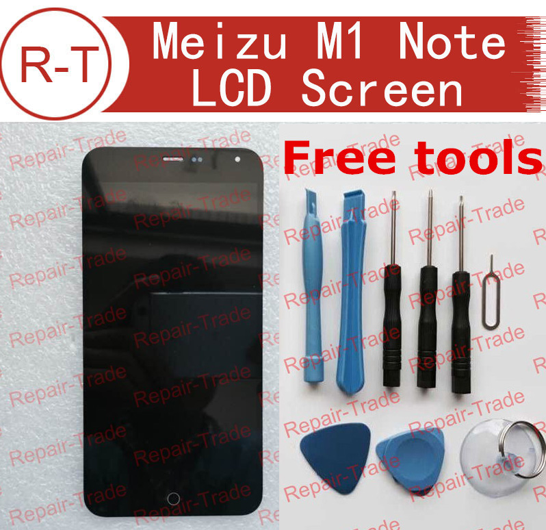 Meizu M1 NOTE LCD Screen High Quality LCD Display+Touch Screen Panel Replacement for MTK6752 FHD 5.5
