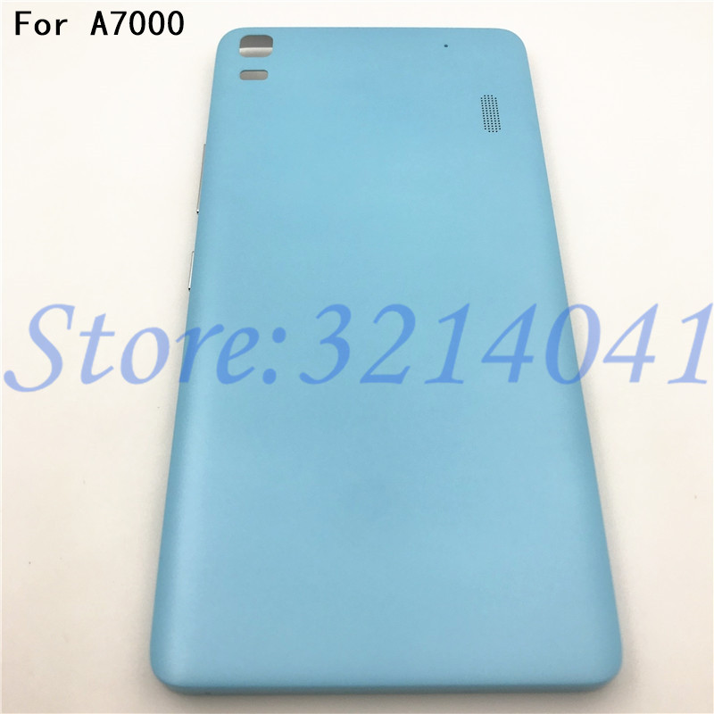 New 5.5 inches Battery Back Cover For <font><b>Lenovo</b></font> K3 NOTE K50-T5 <font><b>A7000</b></font> Housing Case With Power <font><b>Volume</b></font> <font><b>Buttons</b></font>+Logo image