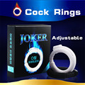1 piece of Joker Foreskin Sex Cock Rings Adjustable Diameter Time Delay Lasting Penis Rings Sex Products For Man Adult Sex Toys