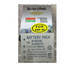NP-40 NP40 lithium batteries NP 40 Digital camera battery For Fujifilm NP-40 for SAMSUNG KLIC-7005 DB-L60 SLB-0737 D-LI8 D-LI85