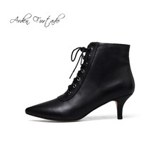 3ed791fbf8 Arden Furtado outono inverno ankle boots de couro genuíno brilhante branco  sapatas das senhoras das mulheres