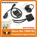 LONCIN  LIFAN ZONGSHEN DC Fired  Ignition Coil + CDI UNIT + Rectifier Regulator + Solenoid Relay Fit ATV Quad Moto Free Shipping