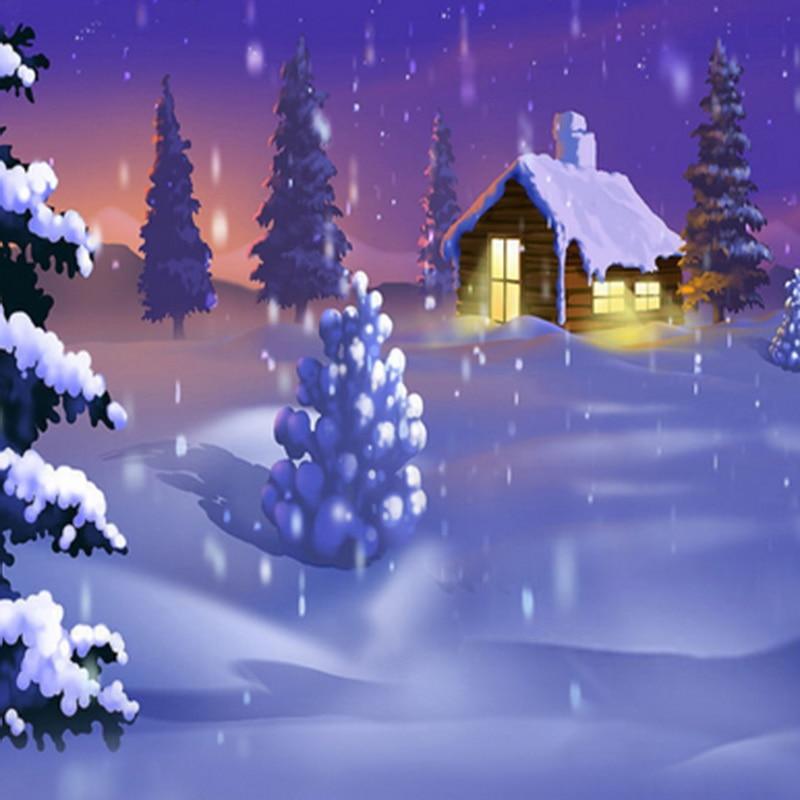 7ft White Christmas Tree