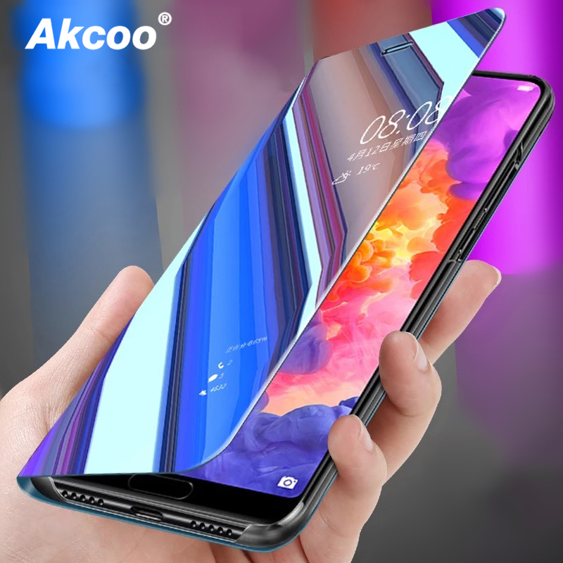 Clear View Smart Mirror Phone Case For Xiaomi 8 8se 6x A2 6 5c 5x A1 Mix2 Note 3 2s Redmi 6 Pro 5a 5 5 Plus 4x Note5 Pro Note4x