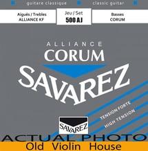 Original Savarez 500AJ Classical Guitar Strings, Full Set  ,High Tension,Free Shipping!
