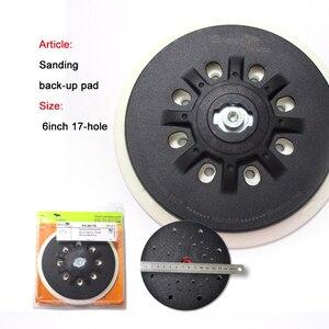 Image 2 - Plaque de ponçage douce/dure 6 pouces, 150mm, à trous multiples, plaque de support pour le polissage, meulage (lot de 1)