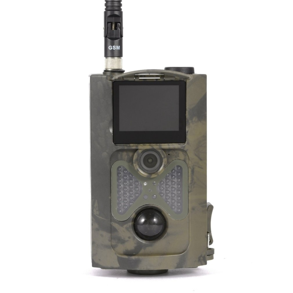 Top Quality HC500M HD GSM MMS GPRS SMS Control Scouting Infrared Trail Hunting Camera free shipping hc500m hd gsm mms gprs sms control scouting infrared trail hunting camera with 48pcs ir leds night vision wildlife surveillance