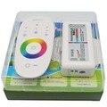 DC 12 V 24 V RGBW OU RGB Led Controlador 2.4G RF Touch Screen 6A por Canal de Controle remoto para smd 5050 3528 5630 led strip luz