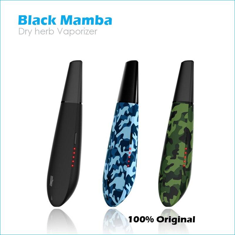 Original Kingtons Black Mamba Trockenen kraut Vaporizer vape mod box flowermate pflanzliche vaporisator e zigarette HERBSTICK Black widow