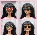 15 различных стилей для выбирают Кукла аксессуары Модные Солнцезащитные Очки для Барби Кем 1:6 куклы BBI00336