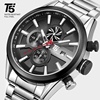 T5 Luxury Brand Rose Gold Male Military Quartz Sport Mens Wrist Watch Men Chronograph Waterproof Watches Sport Wristwatch 1