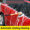 2017 Portable Retractable Washing Long Handle Automatic Rotary Car Washing Brush Car Cleaning Brush Household Hot