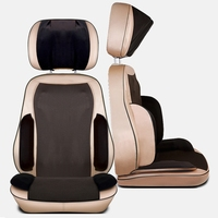 1pc Full Body Electric Massage Chair Mat Home Office Cervical Back Neck Leg Massage Cushion Heating