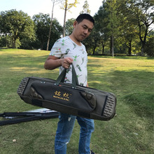 2017 New  Fishing Backpack 80cm 90cm 100cm 1.2 m Double Layer Fishing Rod Bag 3 Layers Fishing Bag Pole Fishing Tackle Bag