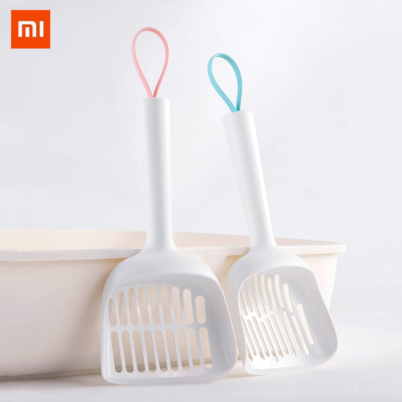 Xiaomi Antibacterial Cat Litter Shovel Pet Cleanning Tool Plastic Scoop Cat Sand Cleaning Products Toilet For Dog Food Spoons