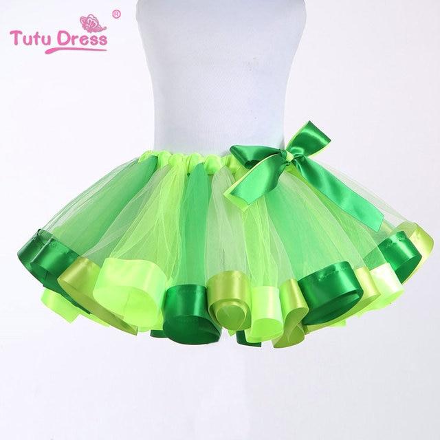 Cheap Tulle Tutu Skirt Beautiful Rainbow Lovely Baby Girl