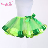 Purple Beautiful Rainbow Tutu Skirt Wiht Butterfly Ribbon Baby Tutu Skirt