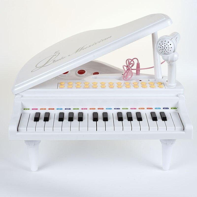 BAOLI 31 Touches Électroniques Piano Bébé Jouets Clavier Instrument de musique Avec Microphone Précoce Jouets Éducatifs Cadeau pour les Enfants - 4