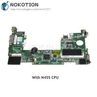 NOKOTION 630966 001 MAIN BOARD For HP mini 110 Laptop Motherboard N455 CPU Onboard DDR3 Full tested