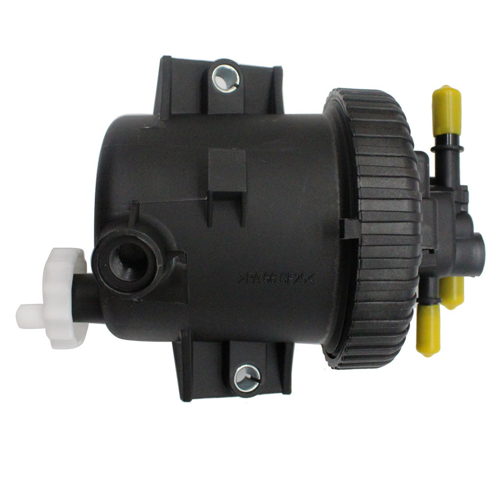 New ABS Plastic Black For Peugeot Citroen Fiat 2.0 Hdi Fuel Filter Housing Inc Filter 190165 SI AT20108 Front Placement