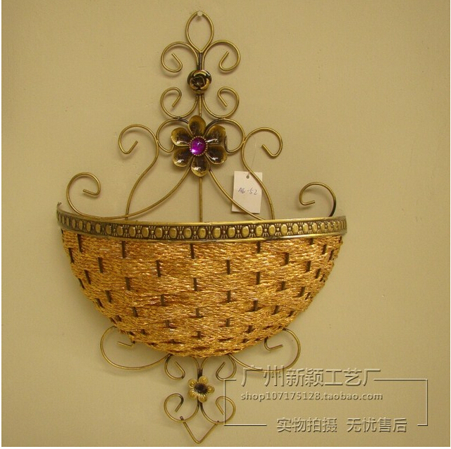 Wall Hanging Basket hanging the cane makes up the hanging wall hanging basket wall act
