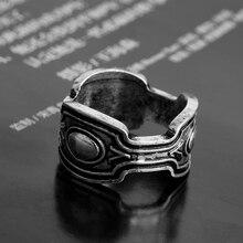 cbd45cc36189 Dongsheng joyería negro Panther moda anillo Wakanda rey Wakanda t challa  Cosplay Anillos para hombres regalo-25