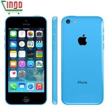 Original Unlocked Apple iPhone 5C Mobile Phone 16GB rom iphone 5C 8mp camera GSM/WCDMA iphone5c Best Quality Free shipping
