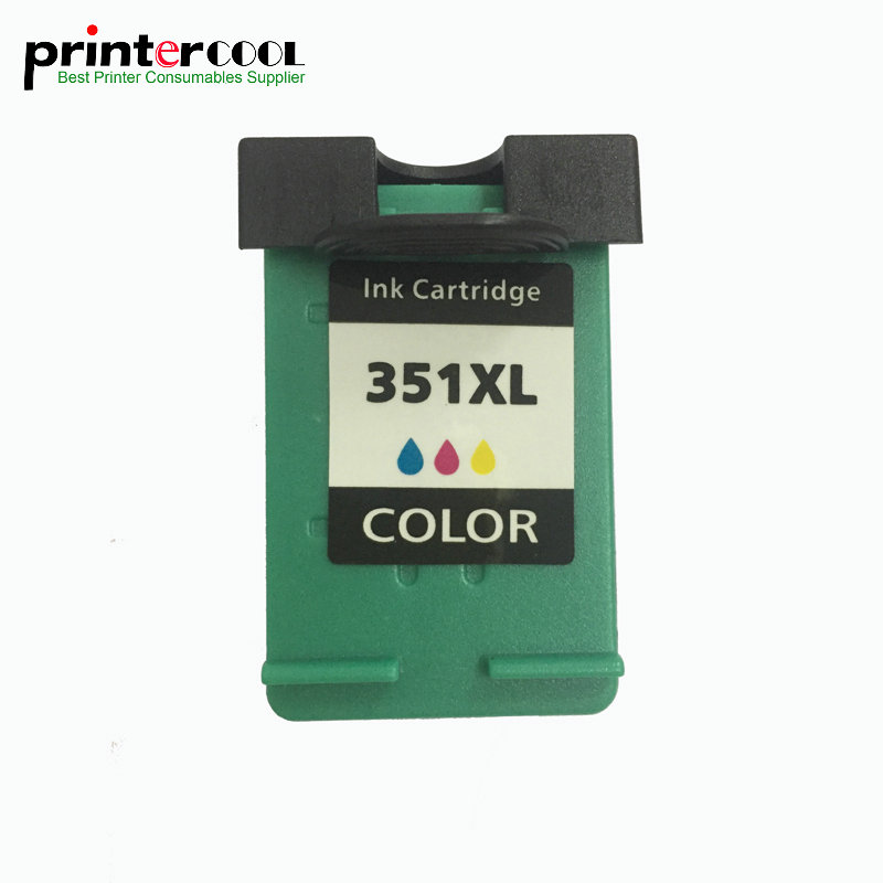 einkshop <font><b>351</b></font> xl Refilled Ink <font><b>Cartridge</b></font> Replacement for <font><b>hp</b></font> 351xl Photosmart C4200 C4480 Officejet J5780 J5730 J5780 printer image