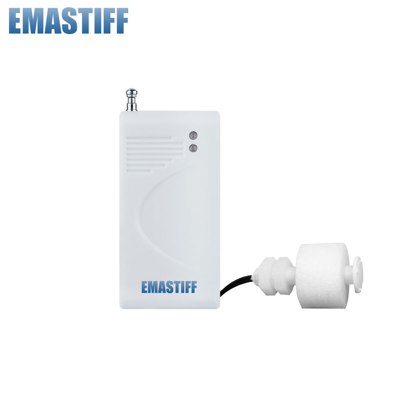 free shipping  1 Pcs/Lot Wireless water leak detector with fix-code,working with wireless GSM/PSTN alarm system.water sensor