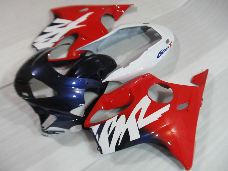 Motorcycle Parts Unpainted White Fairing Bodywork Kit For Honda CBR600 F4 1999 2000 CBR 600 99 00