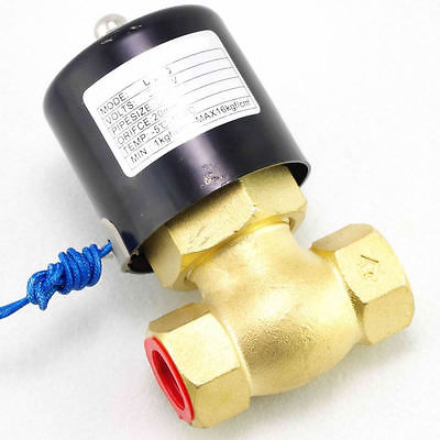 DC12V 1/2BSPT 2Position 2Way NC Gas Oil Brass Steam Solenoid Valve PTFE Pilot 1 2bspt 2position 2way nc hi temp brass steam solenoid valve ptfe pilot