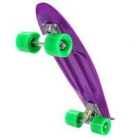 New Skateboard 22 Inch Retro Classic Cruiser Style Skateboard Complete Deck Plastic Mini Skate Board 8