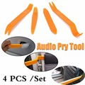4 pcs Open Car Door Clip Panel Audio Video Dashboard Dismantle Kits Installer ABS Plastic Pry Panel Removal Install Tools A51