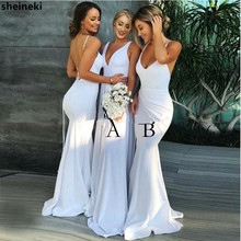 3ee9f95dd9 Buy bridesmaid dresses white and get free shipping on AliExpress.com