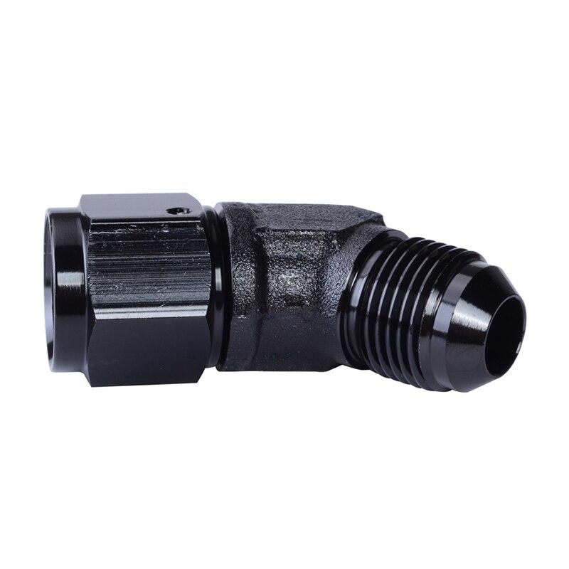 AN-8 à AN10 droite noir pivotant réducteur//extenseur femelle raccord union adaptateur