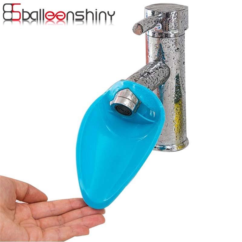 BalleenShiny silikona izlietnes jaucējkrānu paplašinātājs bērniem, kas vada mazgāšanas rokas, viegli mazgājamas ar rokām