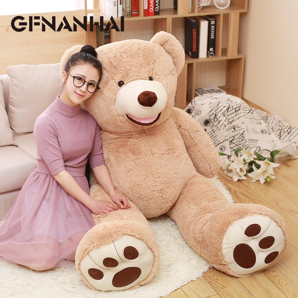 1pc 100cm American giant bear plush toy stuffed soft big size USA Teddy bear dolls children kids birthday & Valentine's gift cute animal soft stuffed plush toys purple bear soft plush toy birthday gift large bear stuffed dolls valentine day gift 70c0074