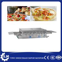 Stainless steel Gas conveyor pizza oven commercial pizza machine for pizza store
