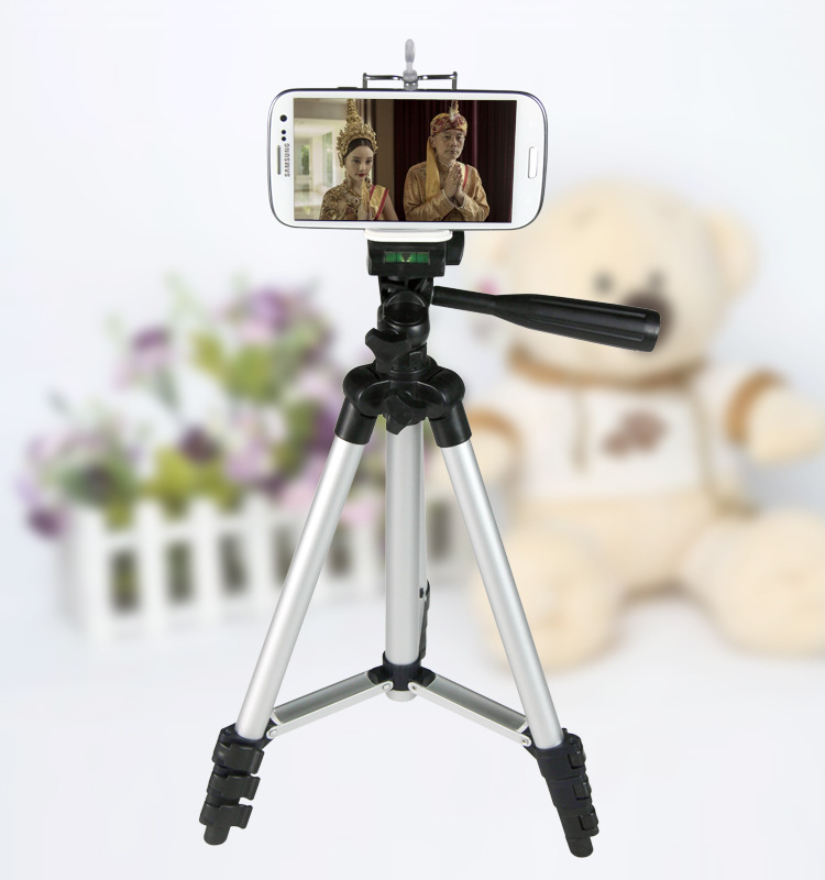 Flexible Tripod Mobile Phone Holder monopod selfie for iPhone 5S 6 plus for Samsung Galaxy S5 S4 S3 fish light stand support