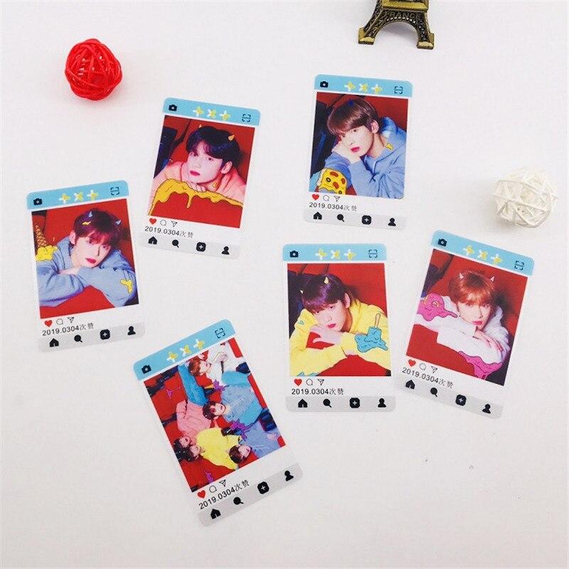 Novelty & Special Use Enthusiastic K-pop Txt /stray Kids /blackpink Debut Album Dream Field Star Transparent Pvc Ins Card Sticker Hf276 Online Discount