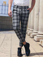 FANZHUAN Free shipping New 2019 summer men's male man plaid casual pants Europe small feet stripes trend wild trousers 928015