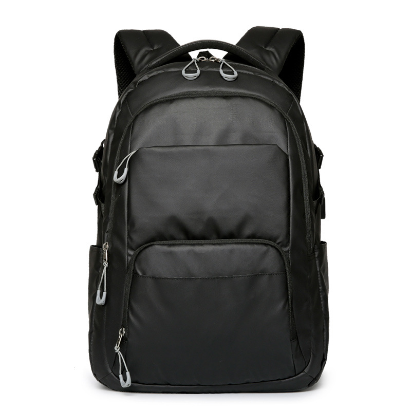 Waterproof Carry Business Men's Travel Backpack Black Large Capacity Computer Schoolbag College Students for 16 Inch Notebook PC men 15 inch laptop business bag outdoor travel hiking backpack large capacity school daypack for tablet pc notebook computer