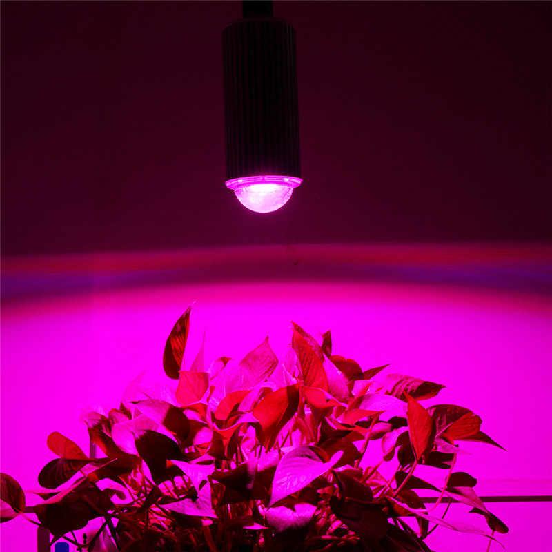 Полный спектр светодиодный свет для выращивания Cob 180 Вт 42Red + 18Blue E27 светодиодная лампа для выращивания растений гидропонная лампа для цветения домашнее выращивание света