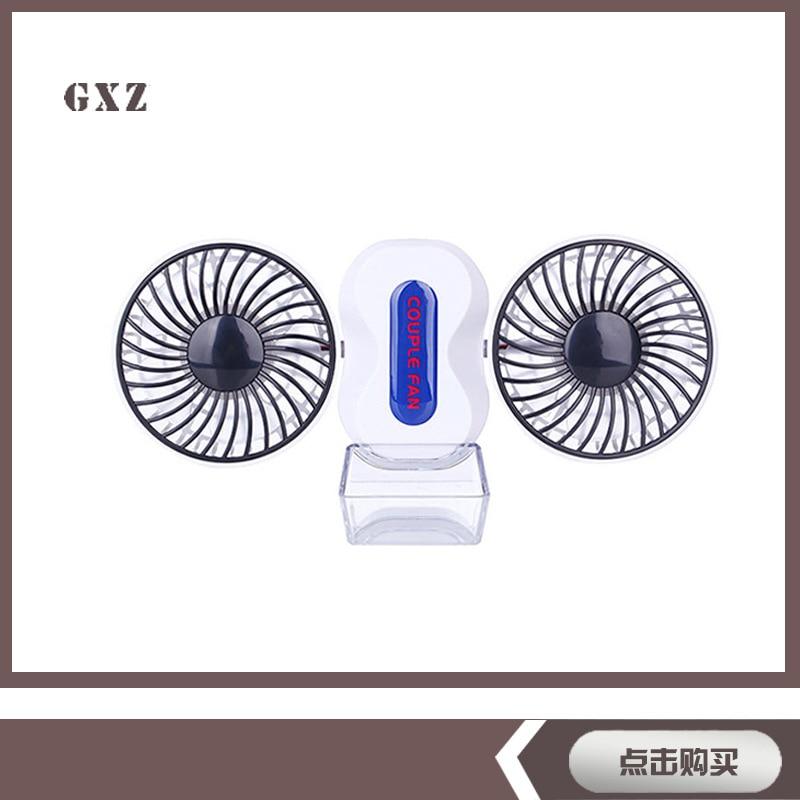Couple of Fan Outdoor Double Folding USB Mini Fan Handheld Small  Fan Lithium Battery couple fan usb small fan motor combo dual folding fan rotatable rechargeable portable mini fan