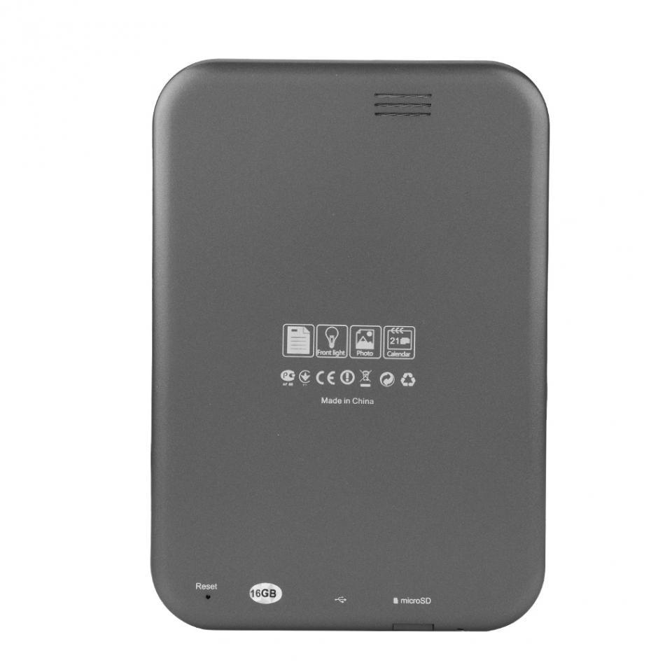 Lecteur Mp3 6 pouces écran d'encre électronique lecteur numérique ebook intégré 8 GB/16G rom et Support carte SD (Max 64 GB) étui ebook gratuit - 4